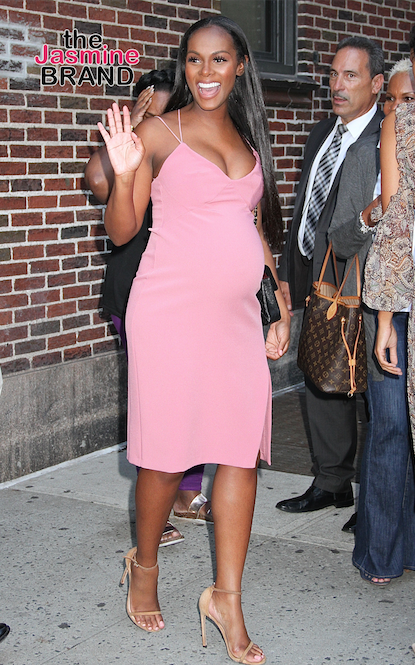 Tika Sumpter Welcomes First Child, Vents About Parenthood: It ain't no joke!