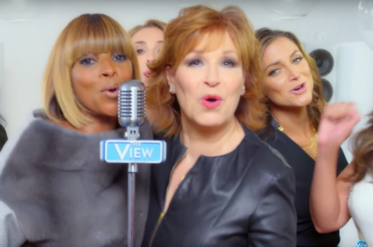 "Mary J. Blige Sings The View's New Theme Song, ""World's Gone Crazy""[VIDEO]"