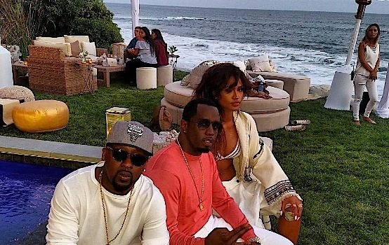 Cassie Reconciles With Diddy, Celebrates Birthday in Malibu: Khloe Kardashian, Russell Simmons, Naomi Campbell Attend [VIDEO]