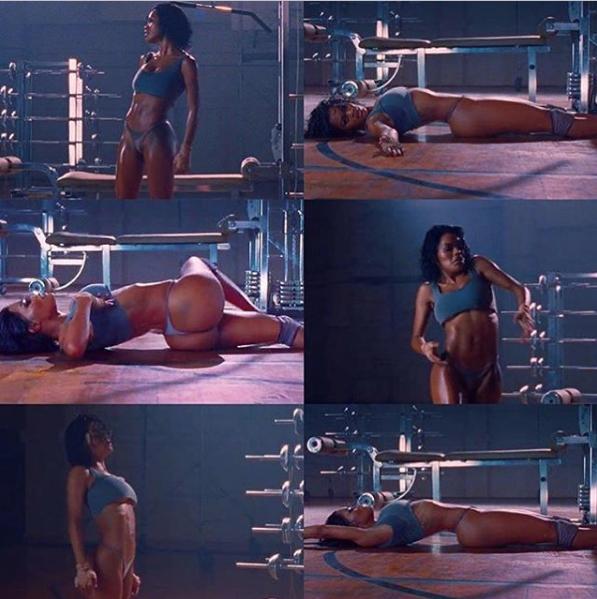 Teyana Taylor Reveals Secret To Her Insanely Fit Body
