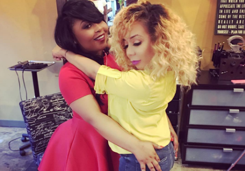 Tiny Harris & BFF Shekinah Announce New Talk Show