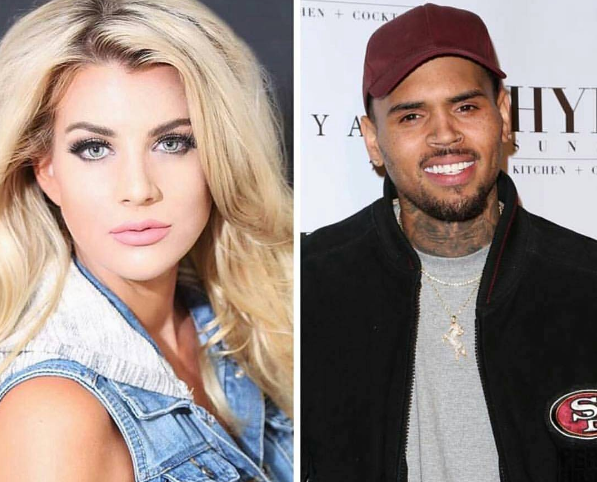Baylee Curran, Chris Brown