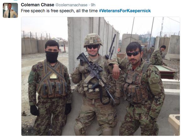 Veterans Support Colin Kaepernick Thejasminebrand