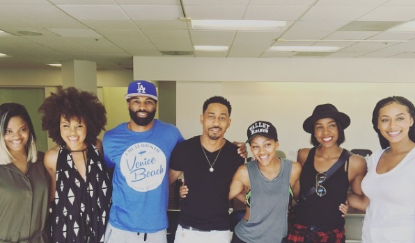 Kelly Rowland, Meagan Good, Brandon T. Jackson, Keri Hilson Prep For 'The 10th Date', Mary J. Blige to Appear On 'How To Get Away With Murder' + D.L. Hughley Films BET's 'Comedy Get Down'