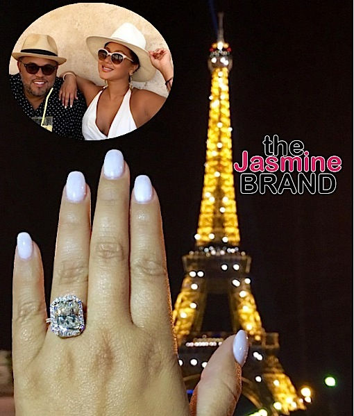 adrienne bailon-lenny santiago engaged the jasmine brand