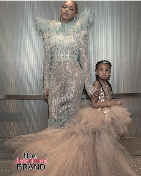 Blue Ivy Hits VMA Red Carpet With Momma Beyonce [Photos]
