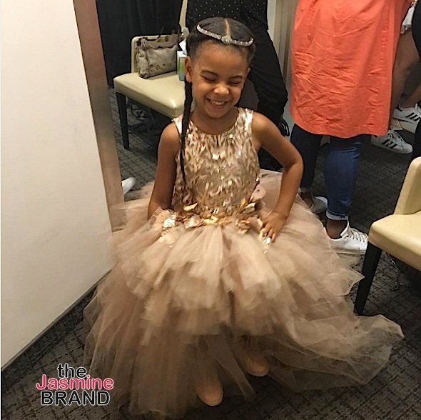 Is 11k Too Expensive For A Child's Dress? Not If You're Blue Ivy Carter! [Photos]