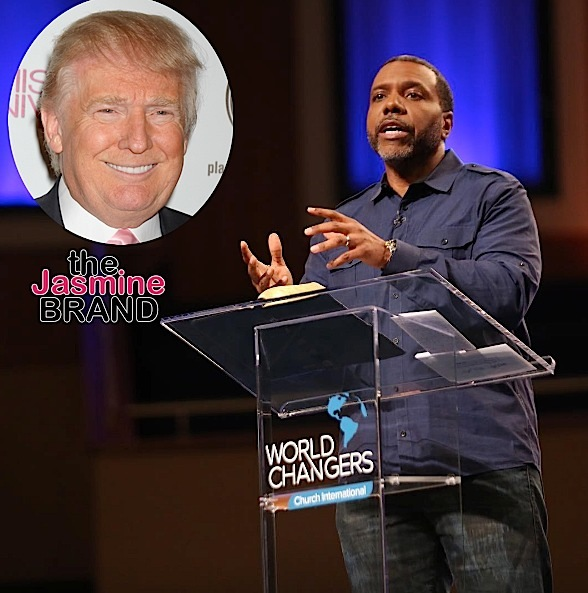 creflo dollar denies donald trump endorsement the jasmine brand