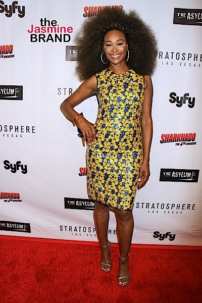 "07/31/2016 - Cynthia Bailey - ""Sharknado 4: The 4th Awakens"" Las Vegas Premiere - Arrivals - Stratosphere Hotel & Casino, 2000 S Las Vegas Boulevard - Las Vegas, NV, USA - Keywords: Vertical, SyFy, ""Sharknado: The 4th Awakens"", Red Carpet Event, Arrival, Attending, People, Person, Portrait, Photography, TV Movie, TV Show, Television Movie, Television Show, Film Industry, Arts Culture and Entertainment, Celebrity, Celebrities, Nevada Orientation: Portrait Face Count: 1 - False - Photo Credit: PRN / PRPhotos.com - Contact (1-866-551-7827) - Portrait Face Count: 1"