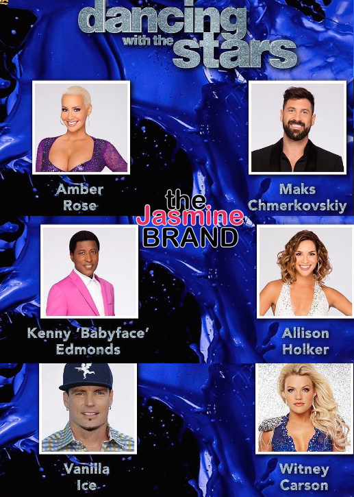 dancing with the stars amber rose babyface the jamsine brand
