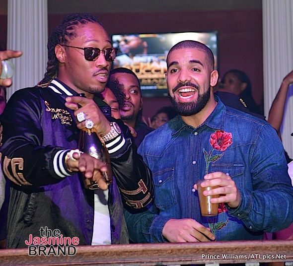 Drake, Future, Usher, Young Thug Party in ATL [Spotted. Stalked. Scene.]