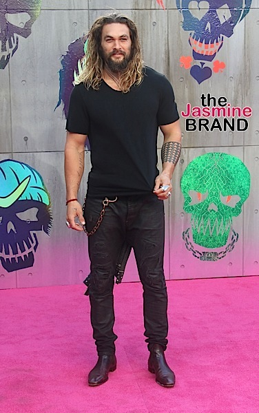 "08/03/2016 - Jason Momoa - ""Suicide Squad"" European Premiere - Arrivals - Odeon, Leicester Square - London, UK - Keywords: Arrivals, Celebrity, Leicester Square, London, Odeon, Premiere, Red Carpet, UK Orientation: Portrait Face Count: 1 - False - Photo Credit: Stills Press / PRPhotos.com - Contact (1-866-551-7827) - Portrait Face Count: 1"