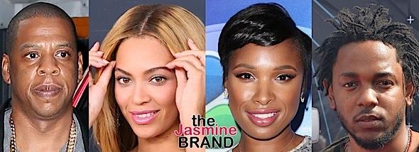 Jay Z, Beyonce, J.Hud, Kendrick Lamar