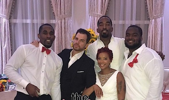 1st Look! NBA's J.R. Smith Marries Jewel Harris [Wedding Photos]