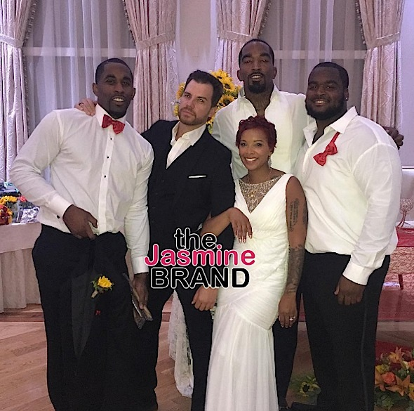 jr smith married the jasmine brand