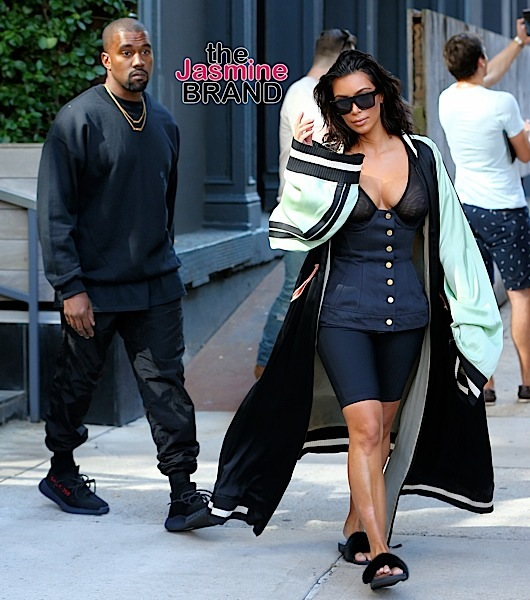 Kim Kardashian Rocks Robe & Slippers, Tami Roman & Jennifer Williams in Beverly Hills, Terrence Howard Hits Kimmel + Stevie Wonder, V.Bozeman