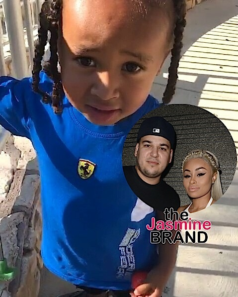Rob Kardashian Teaches Blac Chyna's Son Not to Curse [VIDEO]