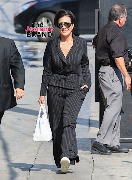"Kris Jenner Sighted Arriving at ""Jimmy Kimmel Live!"" on August 24, 2016"