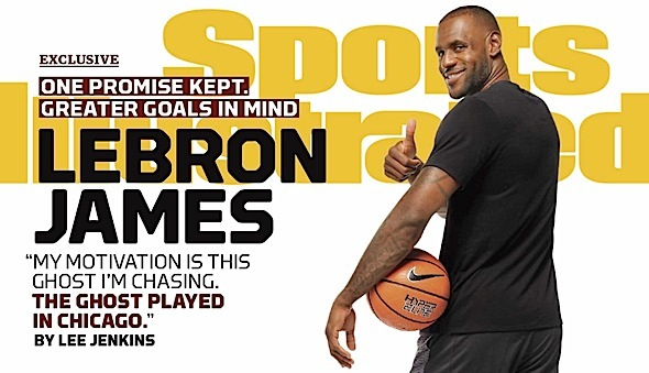 Lebron James Is Shaking The Ghost of Michael Jordan