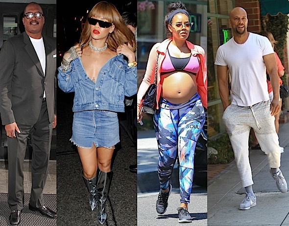 Mathew Knowles, Rihanna, Angela Simmons, Common, Tia Mowry, June Ambrose [Celebrity Stalking]