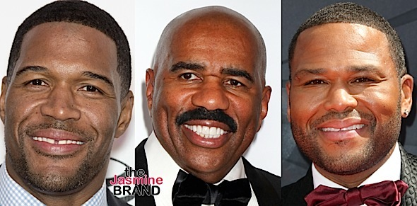 Michael Strahan, Steve Harvey, Anthony Anderson