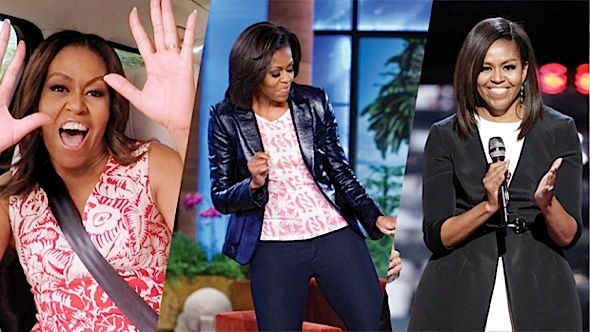 Michelle Obama: First They Laugh, Then They Listen