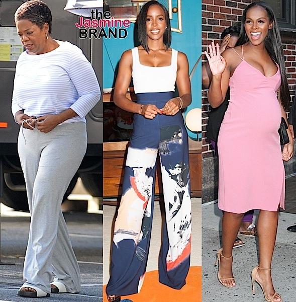 Oprah Winfrey, Kelly Rowland, Tika Sumpter