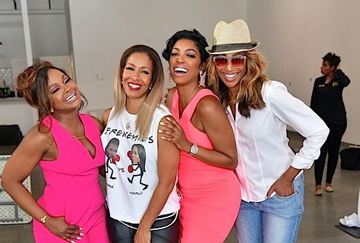 Phaedra Parks Hosts Fundraiser: Sheree Whitfield, Cynthia Bailey, Porsha Williams Attend + Tasha Cobb & New Cast Member Lena Danielle Chenier [Photos]