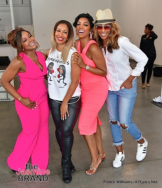 Phaedra Parks Hosts Fundraiser: Sheree Whitfield, Cynthia Bailey, Porsha Williams Attend + Tasha Cobb & New Cast Member Lena Danielle Chenier [Photos]