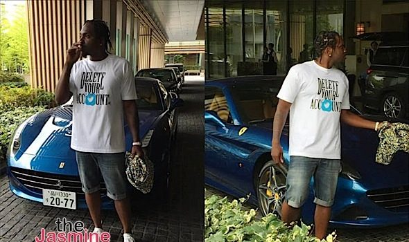 Pusha T Endorses Hillary Clinton, Launches 'Delete Your Account' T-Shirt + YG, Nipsey Hussle [Photos]