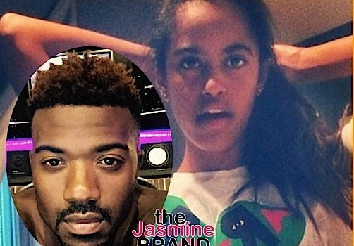 Ray J Denies Sliding In Malia Obama's DMs [VIDEO]