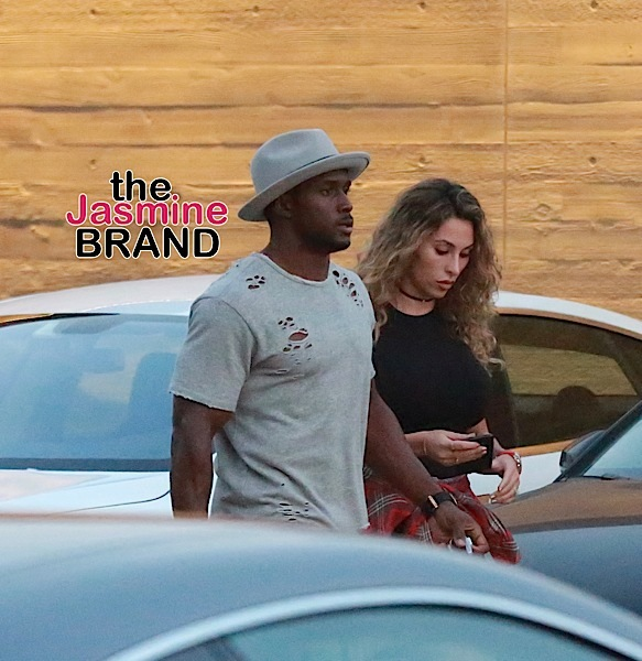 Reggie Bush and wife Lilit Avagyan arrive at Nobu in Malibu