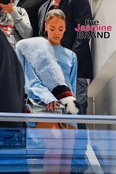 Rihanna leaves Colette store