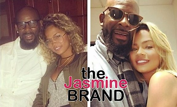 R.Kelly Allegedly Dating 19-Year-Old Model Halle Calhoun [Photos]
