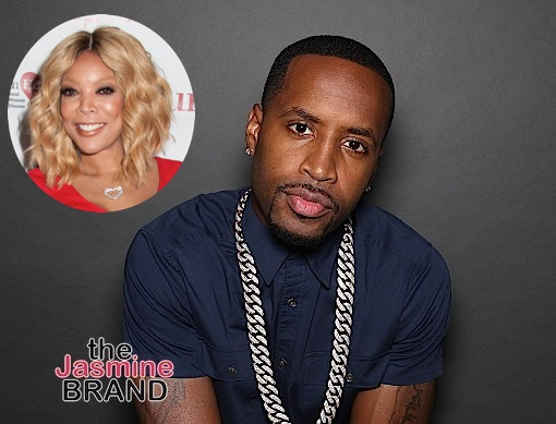 Safaree Samuels Isn't Thirsty For Fame, Accuses Wendy Williams of Pulling Down Black People