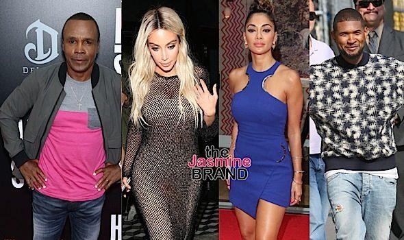 Kim Kardashian, Sugar Ray Leonard, Nicole Scherzinger, Usher Raymond, Kris Jenner, Kendall Jenner [Celebrity Stalking]