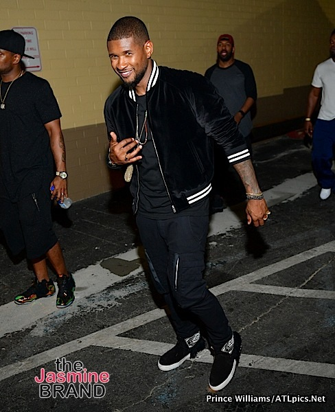Usher's Insurance Company Doesn't Want To Defend Him in STD Lawsuits