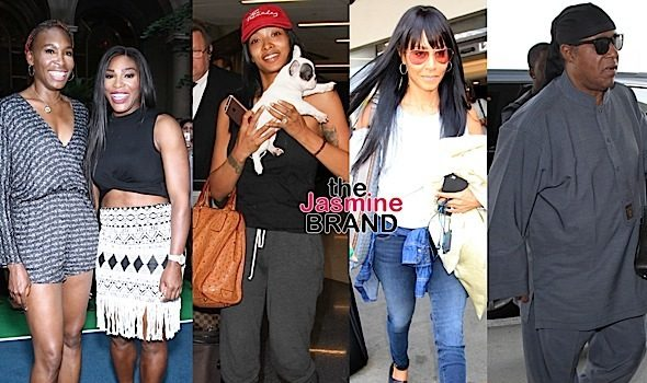 Venus & Serena Williams, Princess Love, Jada Pinkett-Smith, Stevie Wonder, Garcelle Beauvais [Celebrity Stalking]