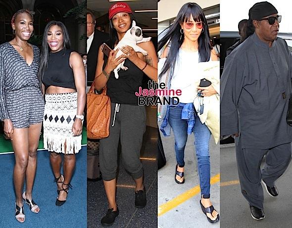 Venus & Serena Williams, Princess Love, Jada Pinkett-Smith, Stevie Wonder, Garcelle Beauvais [Celebrity Stalking]