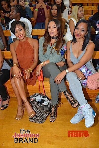 LeToya Luckett, Rick Ross, Tameka Raymond, DC Young Fly, Tank, Matt Barnes Attend Charity Basketball Game [Photos]