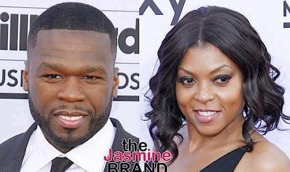 "50 Cent Clowns ""Empire's"" Ratings, Offers Taraji P. Henson A Job"