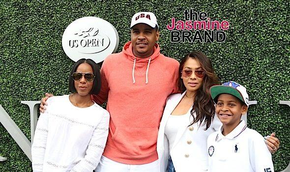 Kelly Roland, Carmelo & Lala Anthony Support Serena Williams, Laverne Cox Hits WeHo, Tinashe in Las Vegas + Jordyn Woods, Jaden Smith, Christina Milian [Photos]