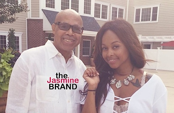 Chrisette and her father