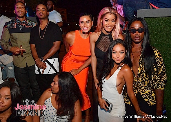 Ludacris, Larenz Tate, Laura Govan, Monica, Trey Songz, Karrueche Tran Party in Atl [Spotted. Stalked. Scene.]