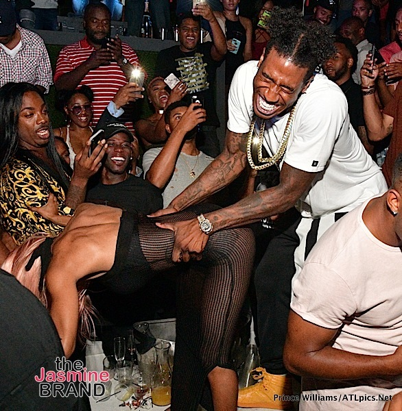 Teyana Taylor & Iman Shumpert Turn Up At Compound [Photos]