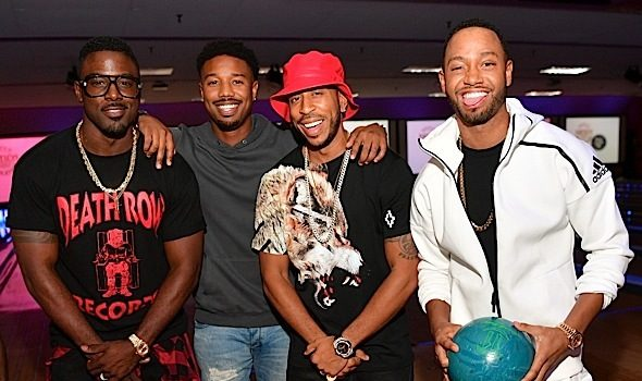 Ludacris Throws Bowling Tournament: Lance Gross, Larenz Tate, Michael B. Jordan, Laura Govan, Terrence J, Marlo Hampton Attend