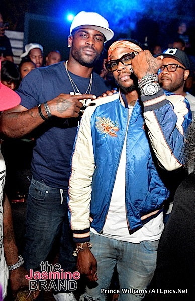2 Chainz, Michael Vick & Juvenile Spotted at Falcons Watch Party [Photos]
