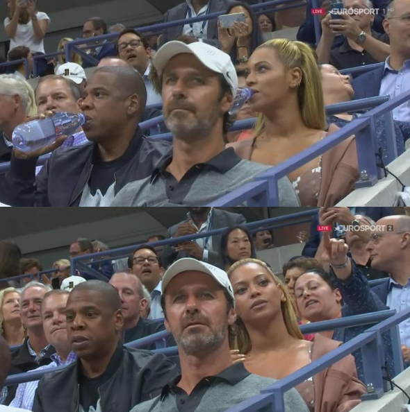 Beyonce & Jay Z Support Serena Williams at the US Open [Photos]