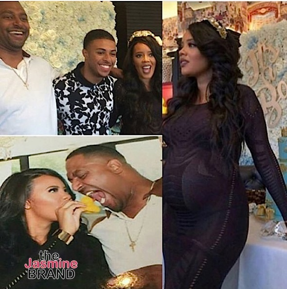 Angela Simmons & Fiance Celebrate Baby Shower [Photos]