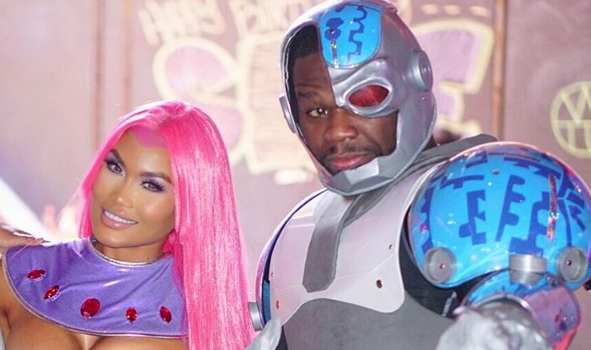 50 Cent Throws Son Sire Jackson, Teen Titans Birthday Party [Photos]